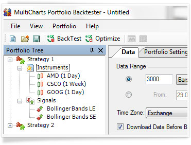 Dynamic Portfolio Backtesting